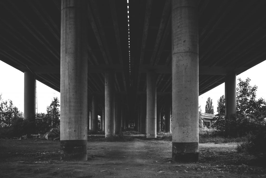 Under the overpass - free stock photo