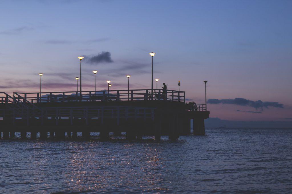 View on the seabridge - free stock photo