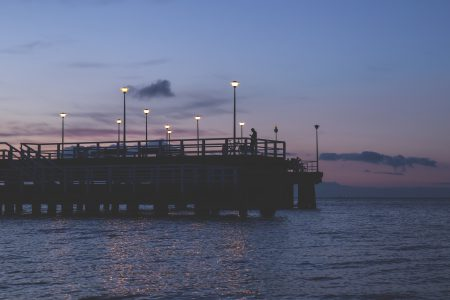 View on the seabridge - free stock photo