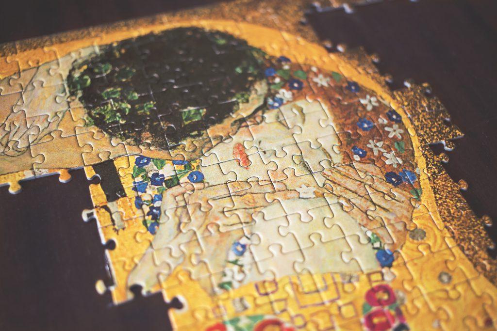 Art puzzle - free stock photo