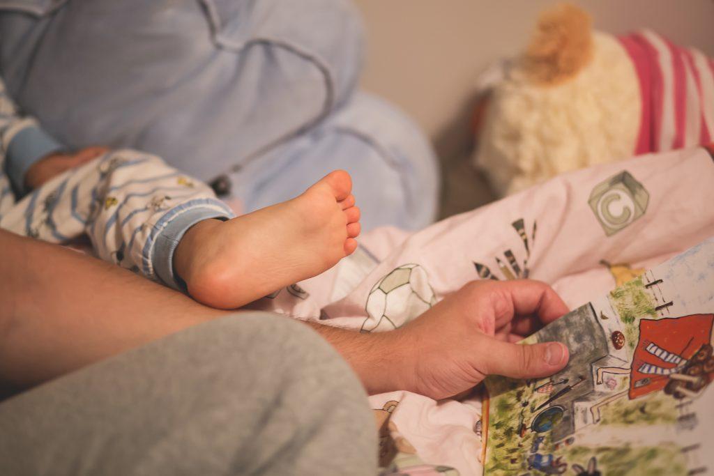 Bedtime stories - free stock photo