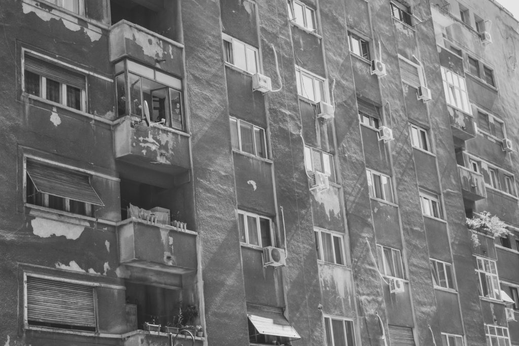 Block of flats - free stock photo
