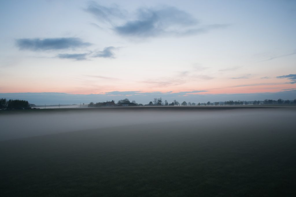 Evening mist 2 - free stock photo