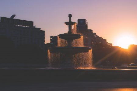 Fountain in Bucharest - free stock photo