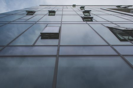 Glass building - free stock photo