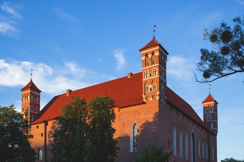 Gothic castle - free stock photo