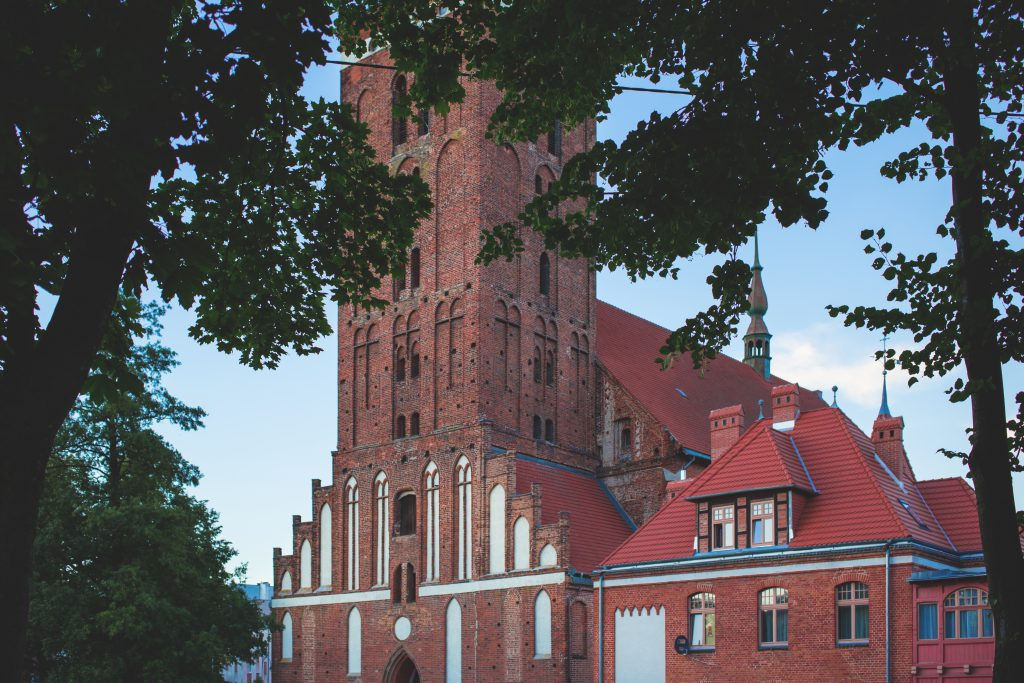 Gothic church - free stock photo