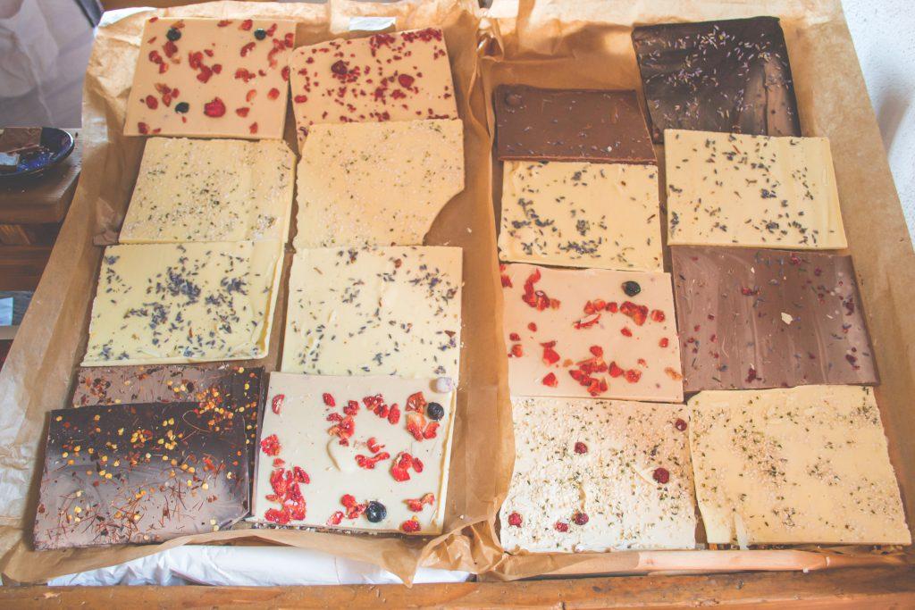 Handmade chocolate - free stock photo
