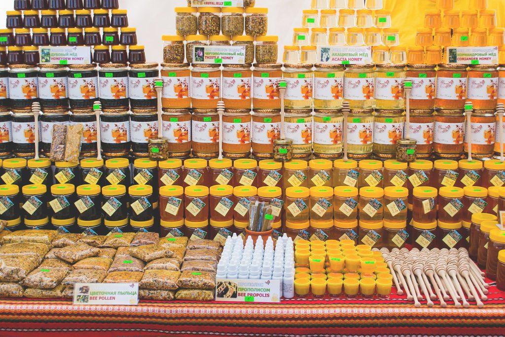 Honey festival - free stock photo