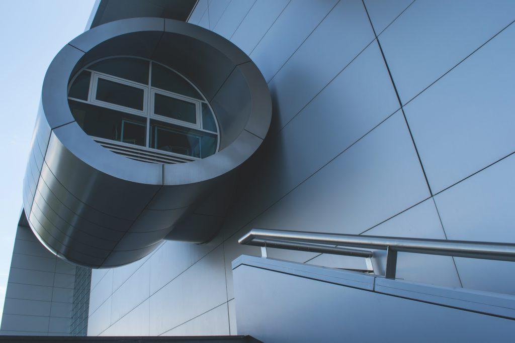 Modern building - free stock photo