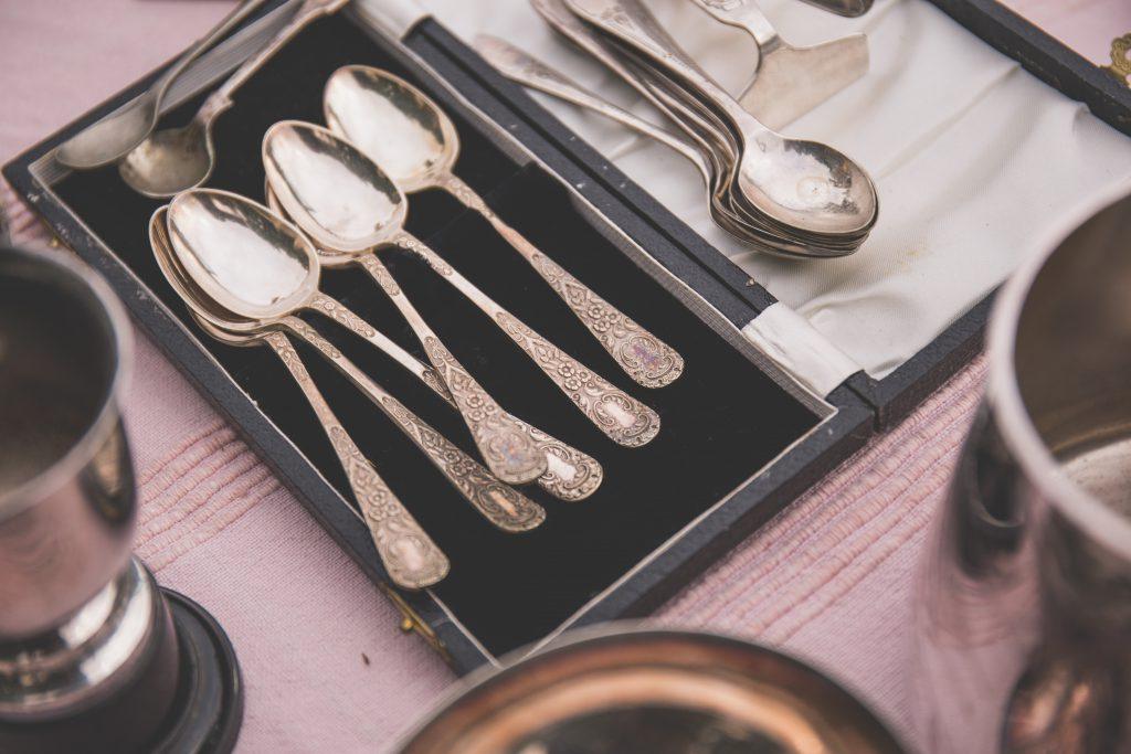 Old tea spoons - free stock photo