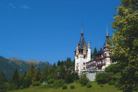 Peleș Castle - free stock photo