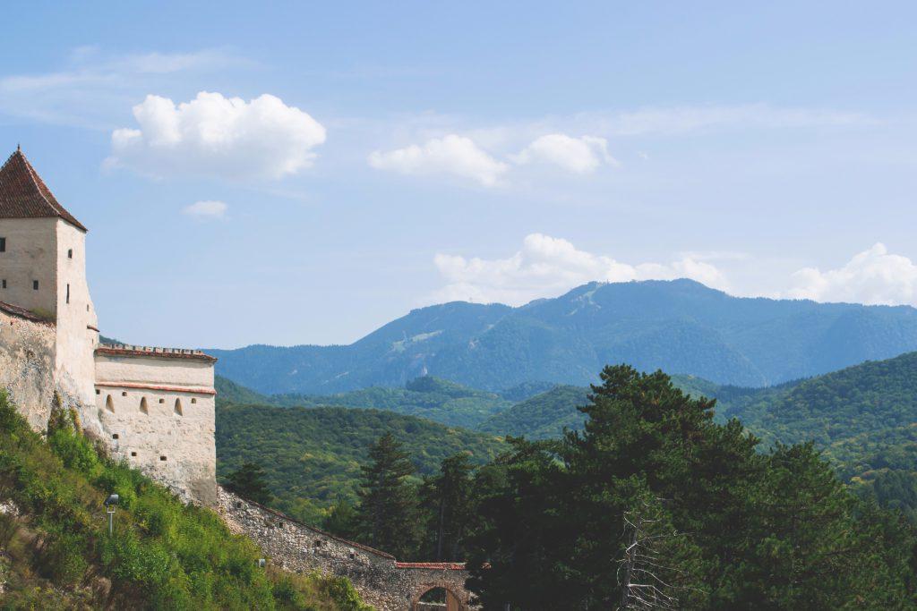 Râșnov castle landscape - free stock photo