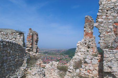 Ruins of a castle - free stock photo