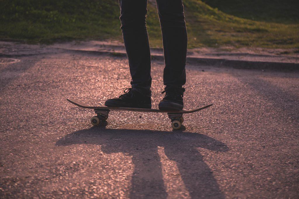 Skateboarder - free stock photo
