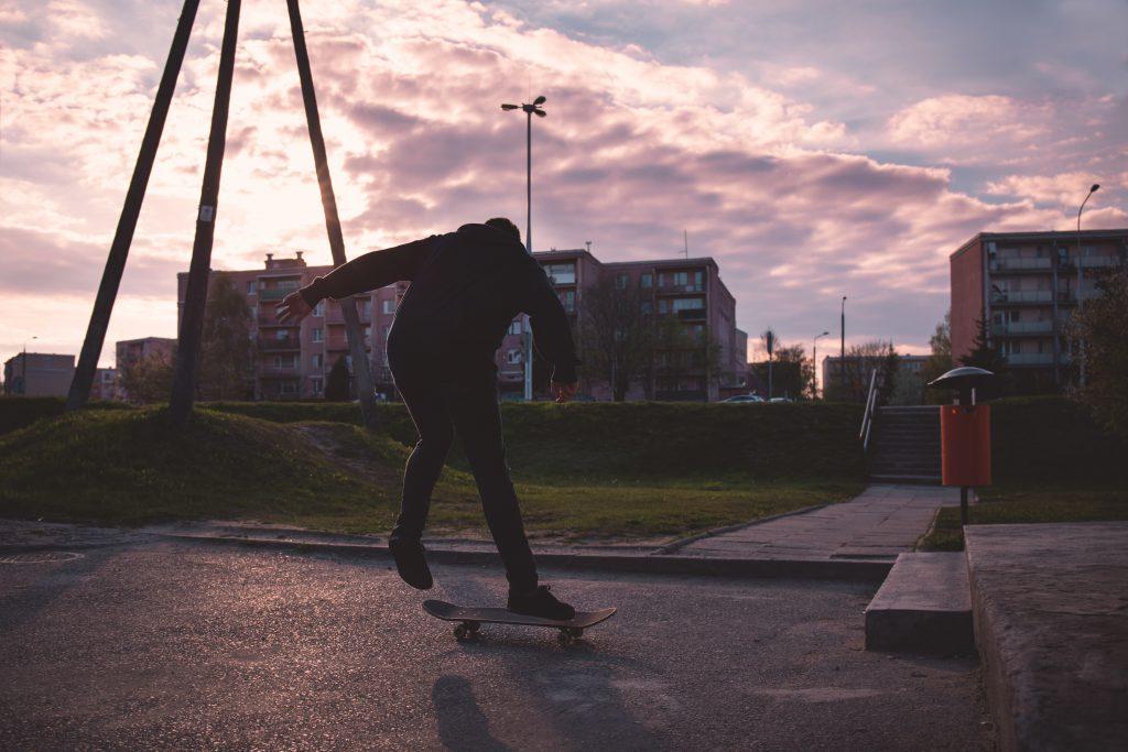 Skateboarder 2 - free stock photo