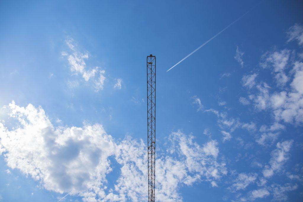 Tower crane - free stock photo