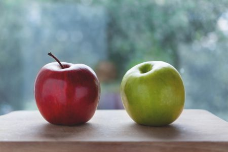 Two apples 2 - free stock photo