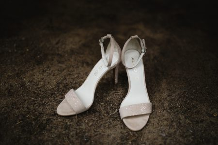Wedding shoes - free stock photo