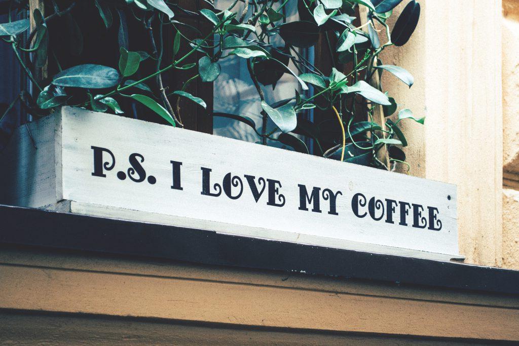I love my coffee - free stock photo