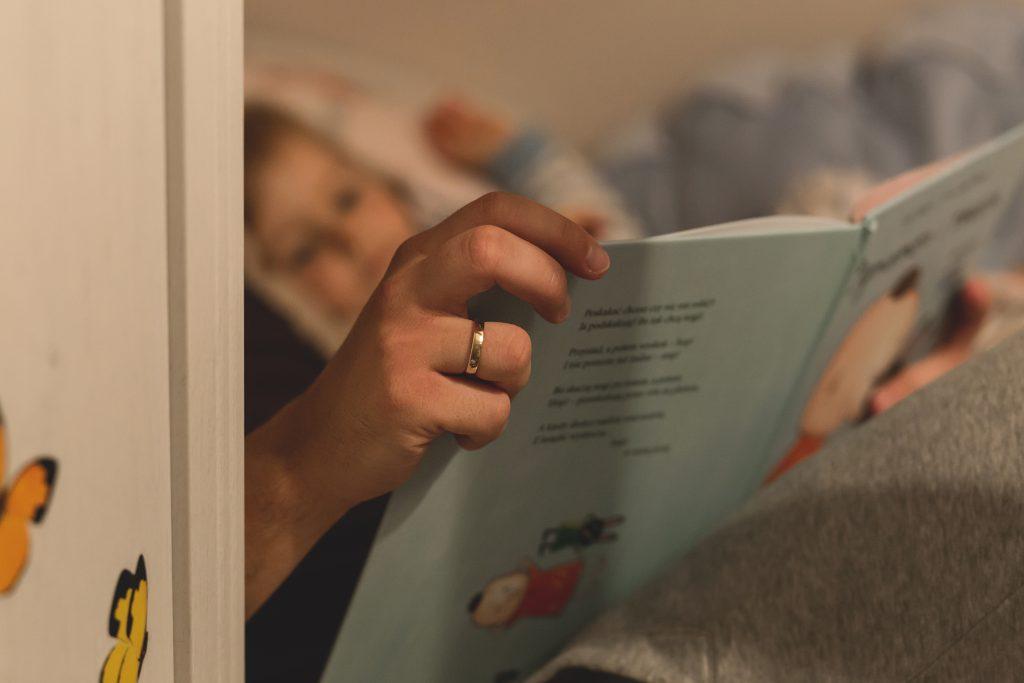 Bedtime stories 2 - free stock photo