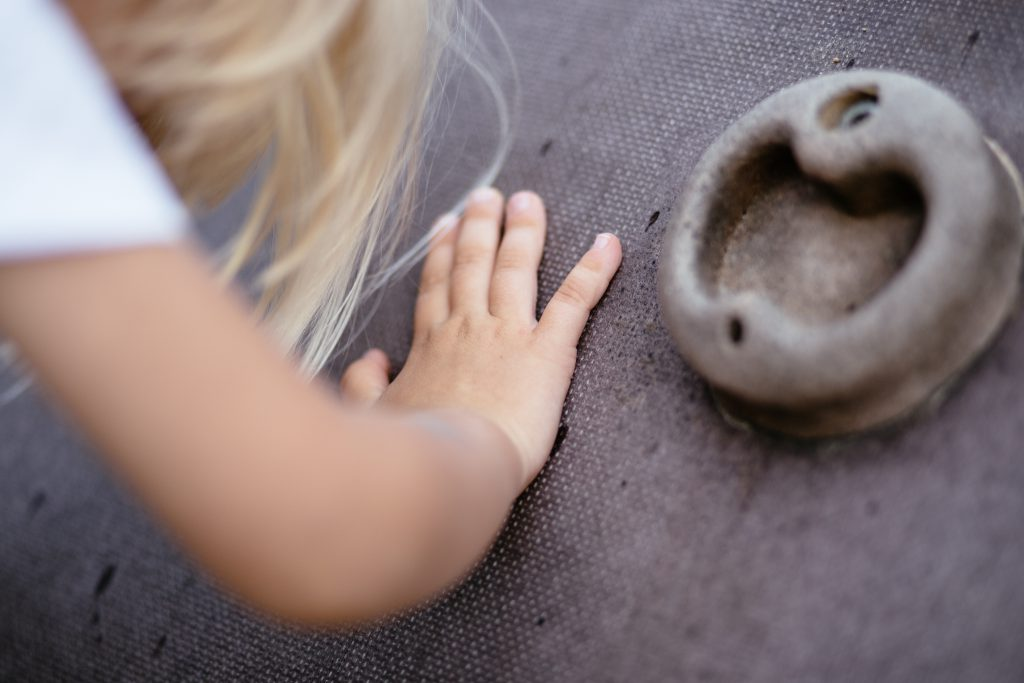 Child climbing 2 - free stock photo