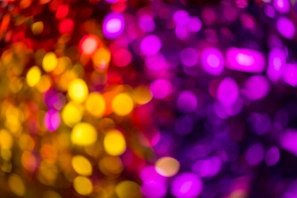Colorful bokeh - free stock photo