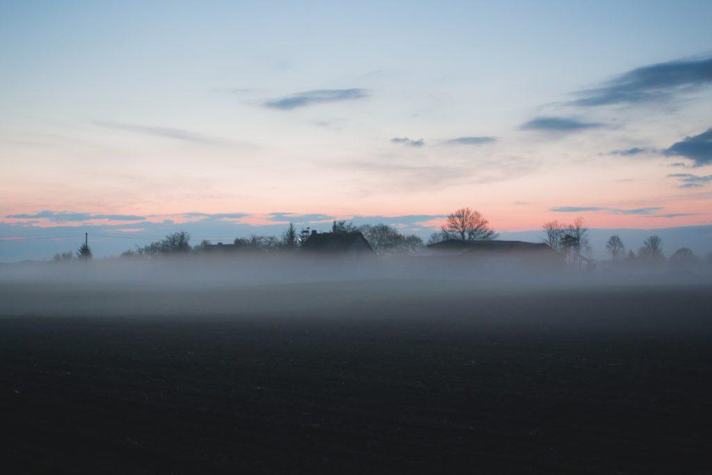 Evening mist 4 - free stock photo