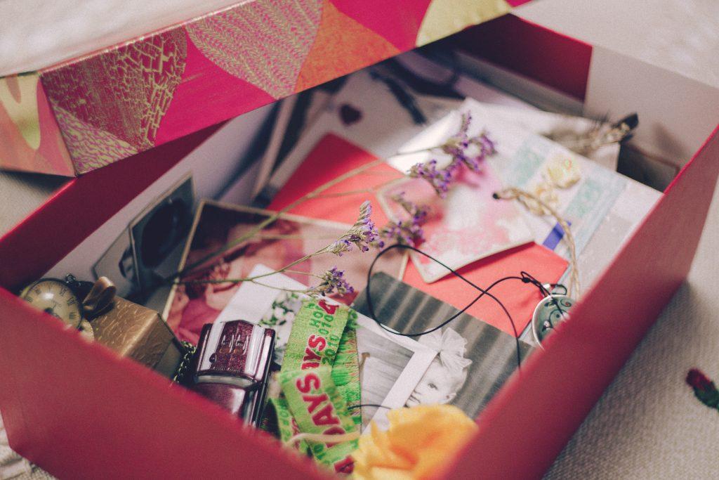 Memory box - free stock photo