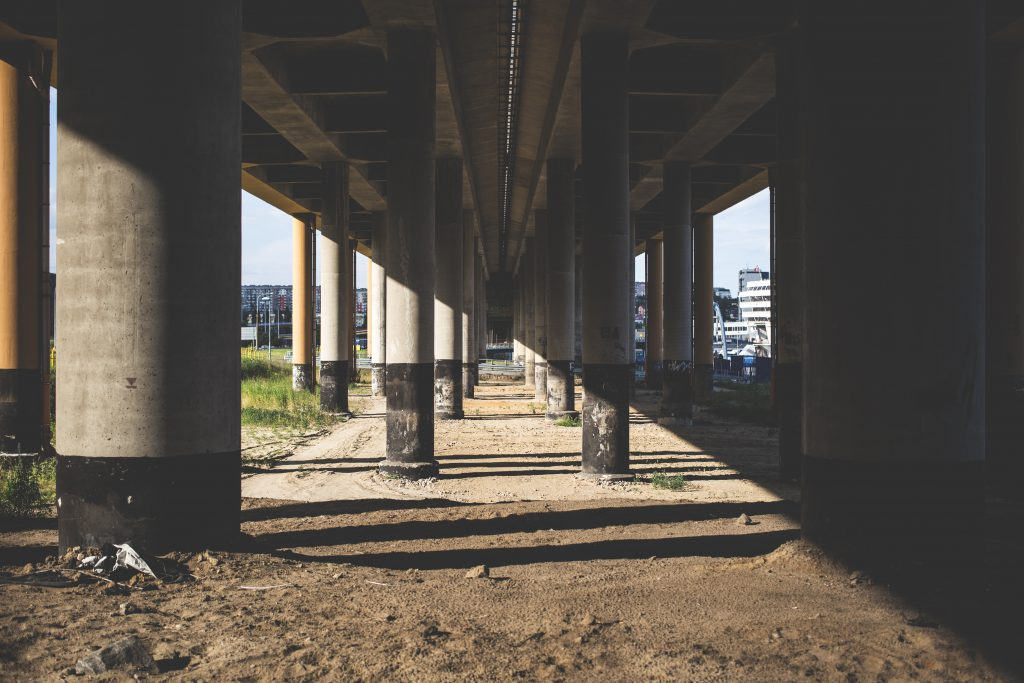 Under the overpass 4 - free stock photo