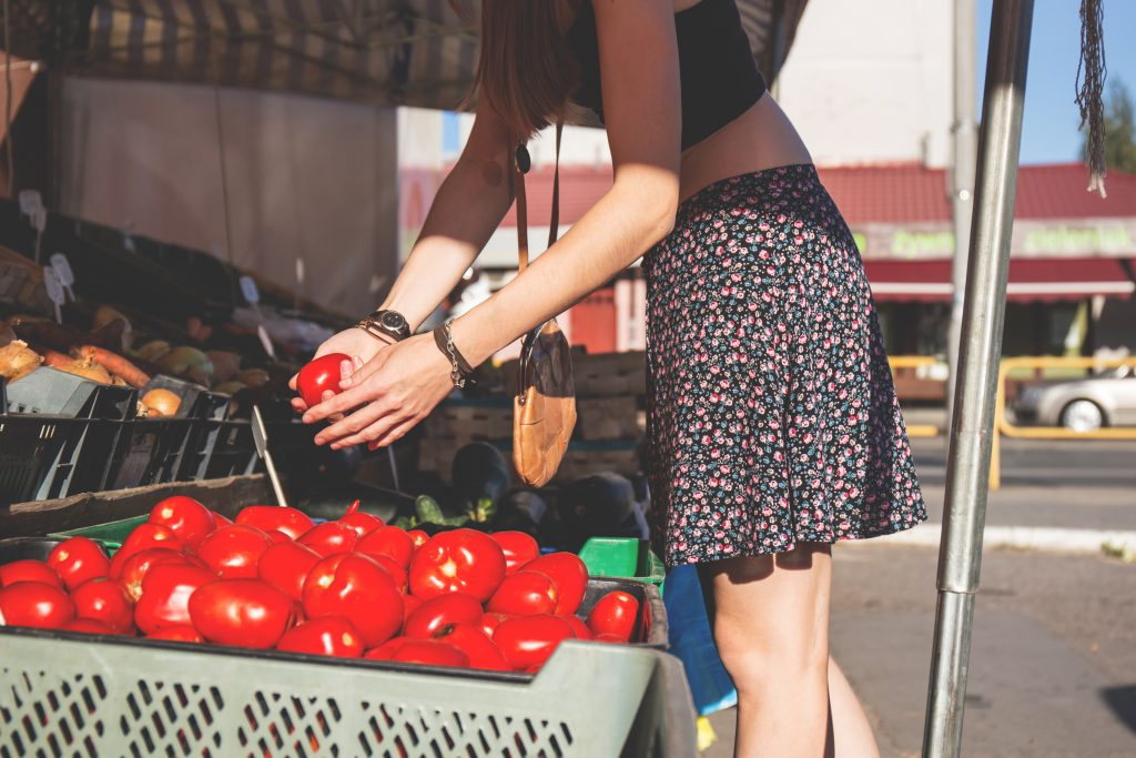 Vegetable market - free stock photo