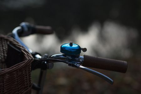 Bicycle bell - free stock photo