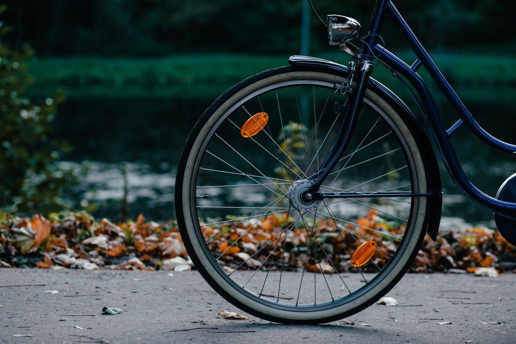 Bike's wheel - free stock photo