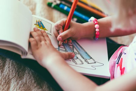 Child drawing 2 - free stock photo