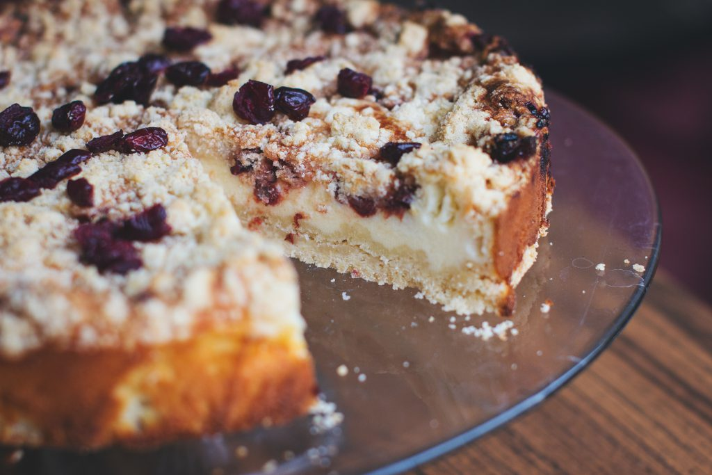 Chokeberry pie - free stock photo