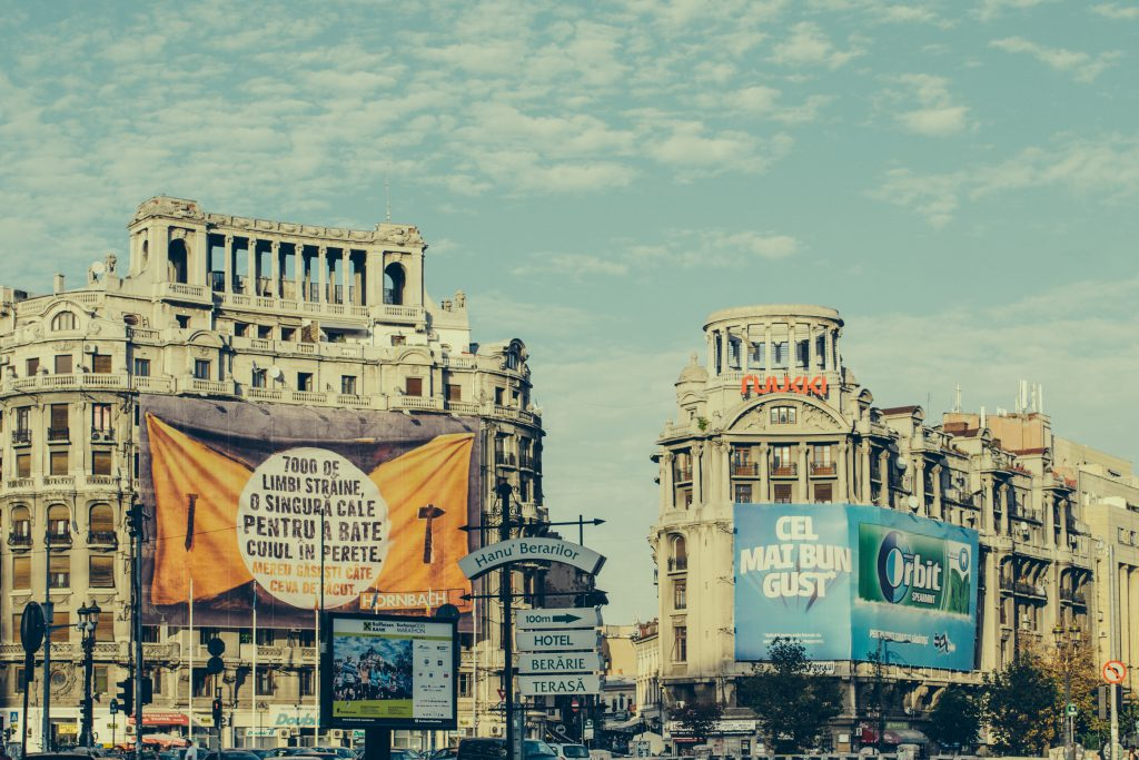 City ads - free stock photo
