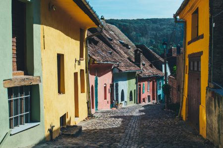 Colorful houses - free stock photo