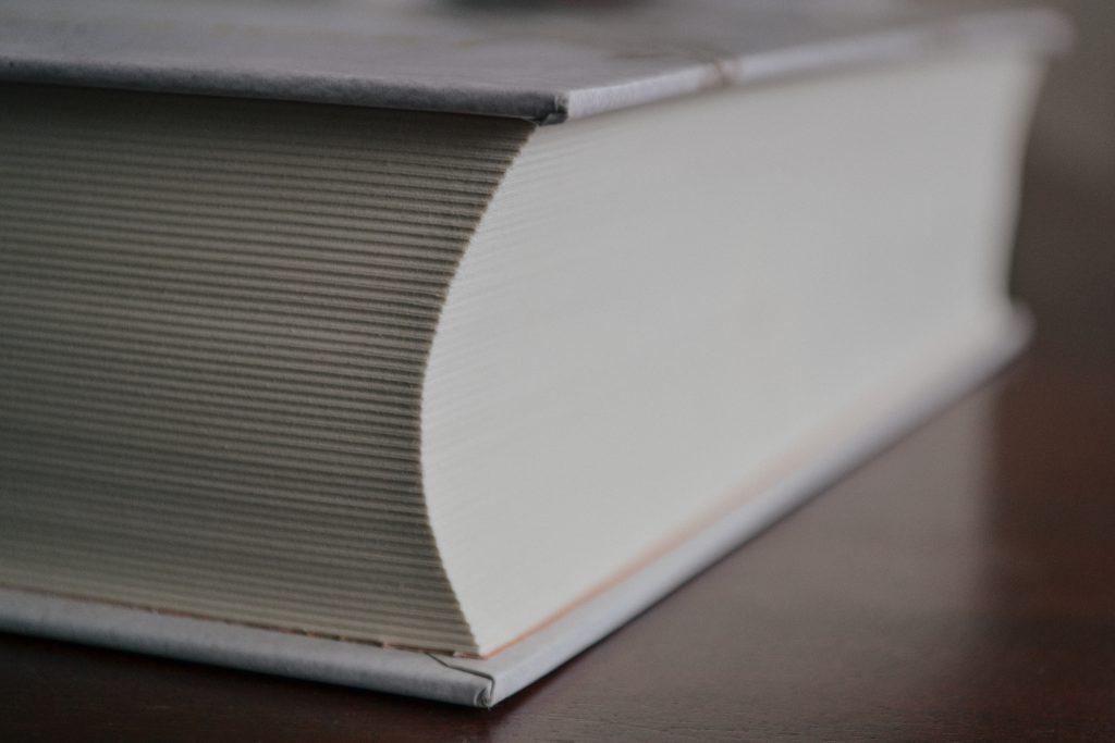 Fat book closeup - free stock photo