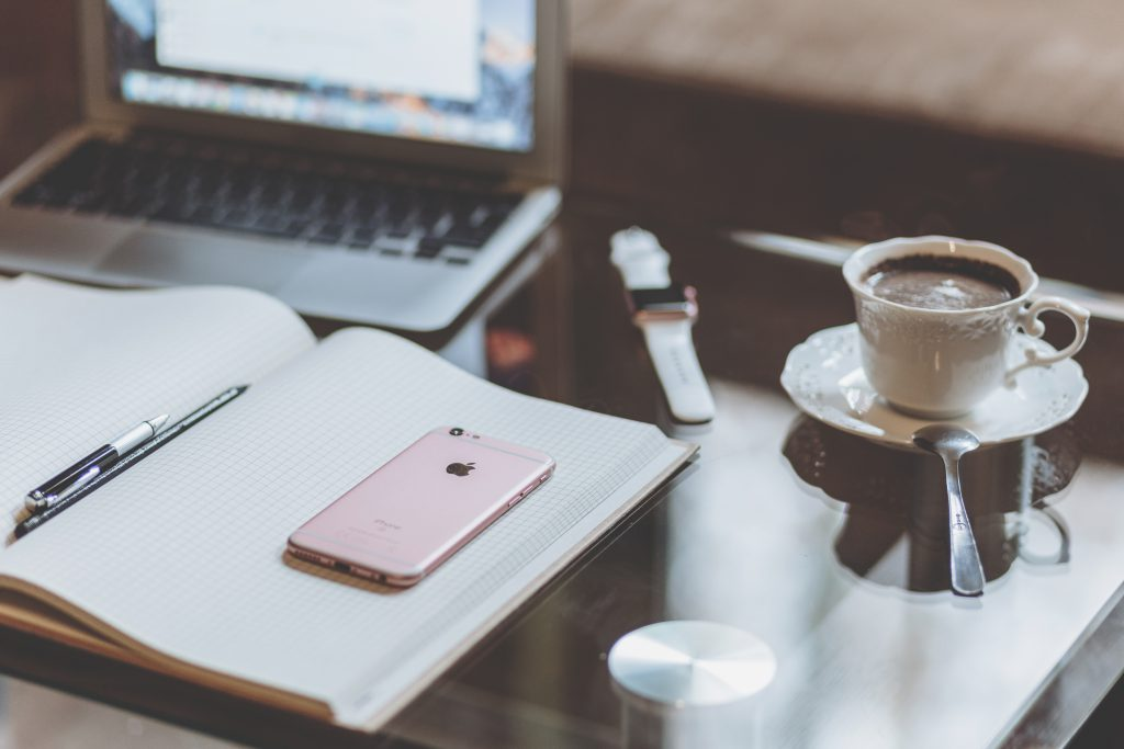 iPhone, iWatch and MacBook - free stock photo