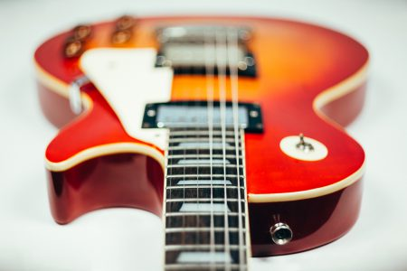 Les Paul guitar 2 - free stock photo