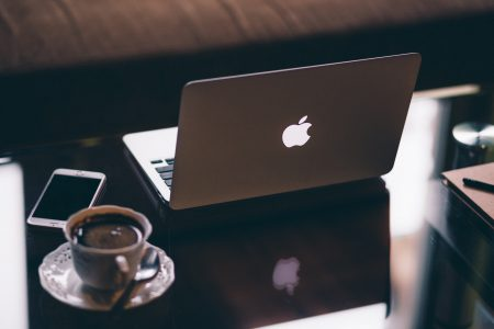 MacBook and iPhone - free stock photo