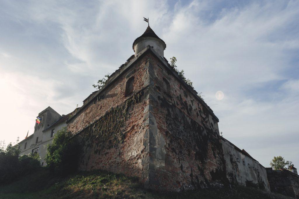 Medieval Romanian castle - free stock photo