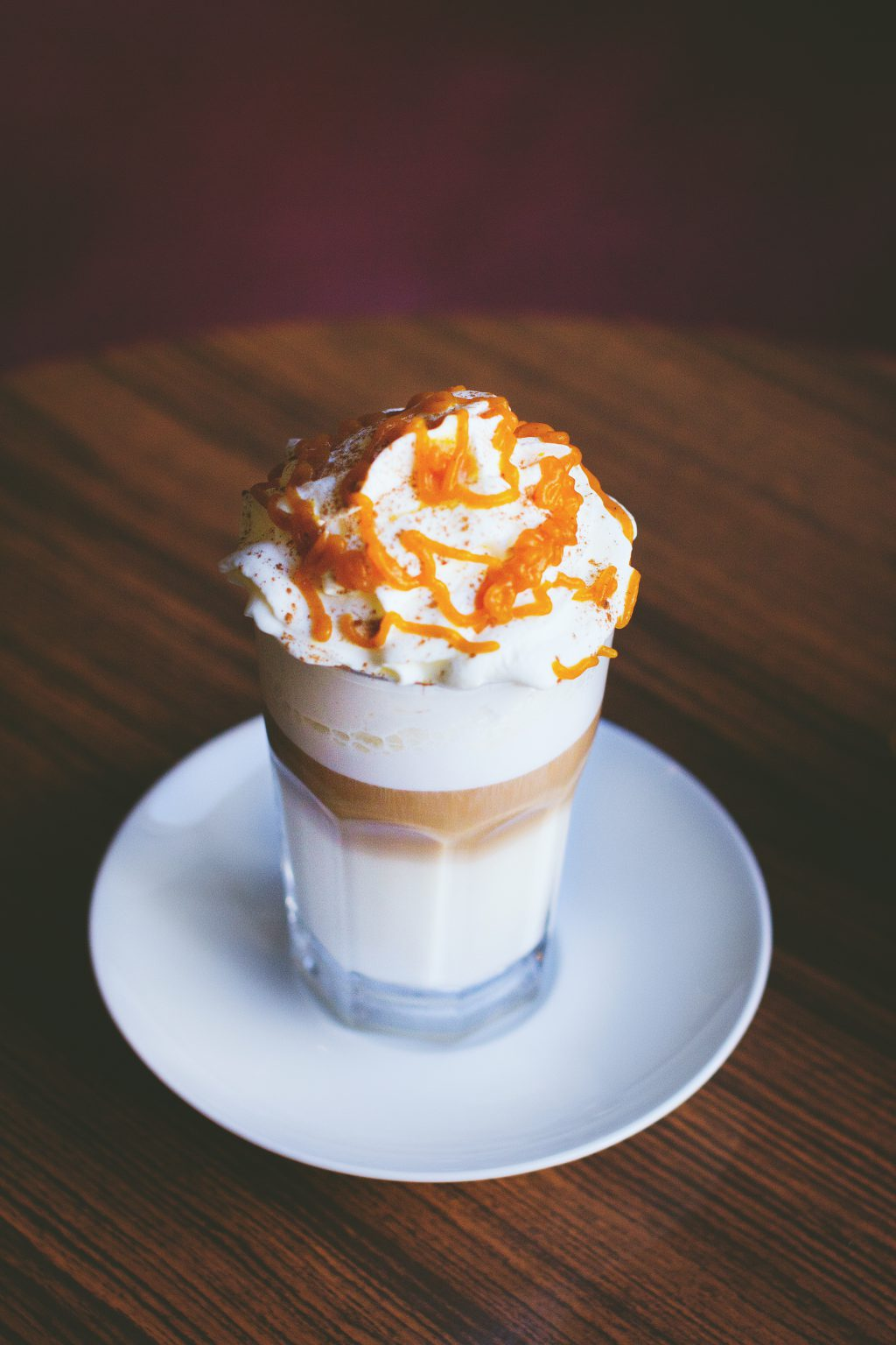 Pumpkin latte - free stock photo