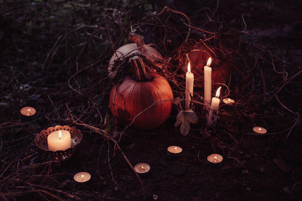 Spooky Halloween decoration - free stock photo