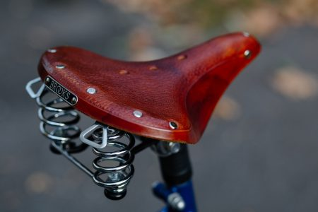 Bike saddle - free stock photo