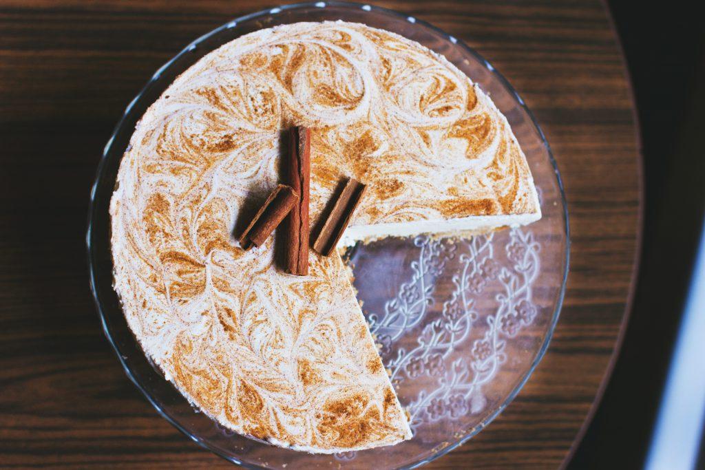 Cinnamon cheesecake 2 - free stock photo