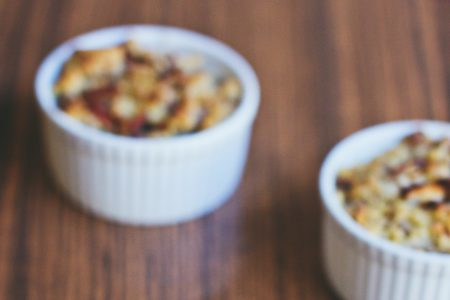 Crumble creme brulee - free stock photo