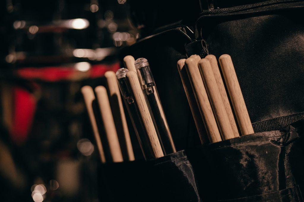 Drum sticks - free stock photo