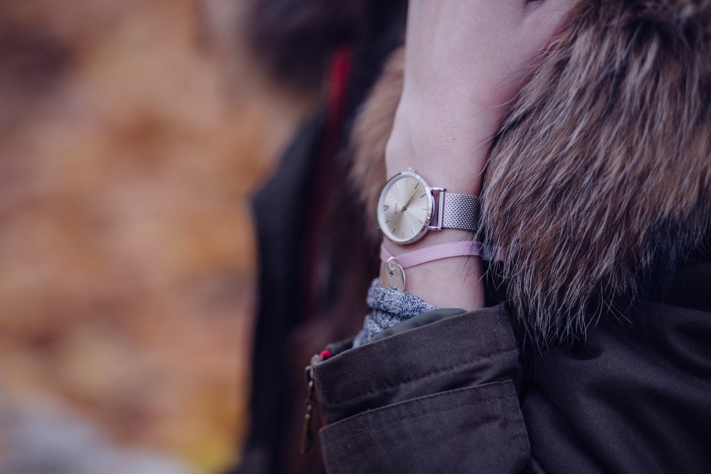 Female silver watch 2 - free stock photo