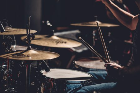 Play the drums 2 - free stock photo
